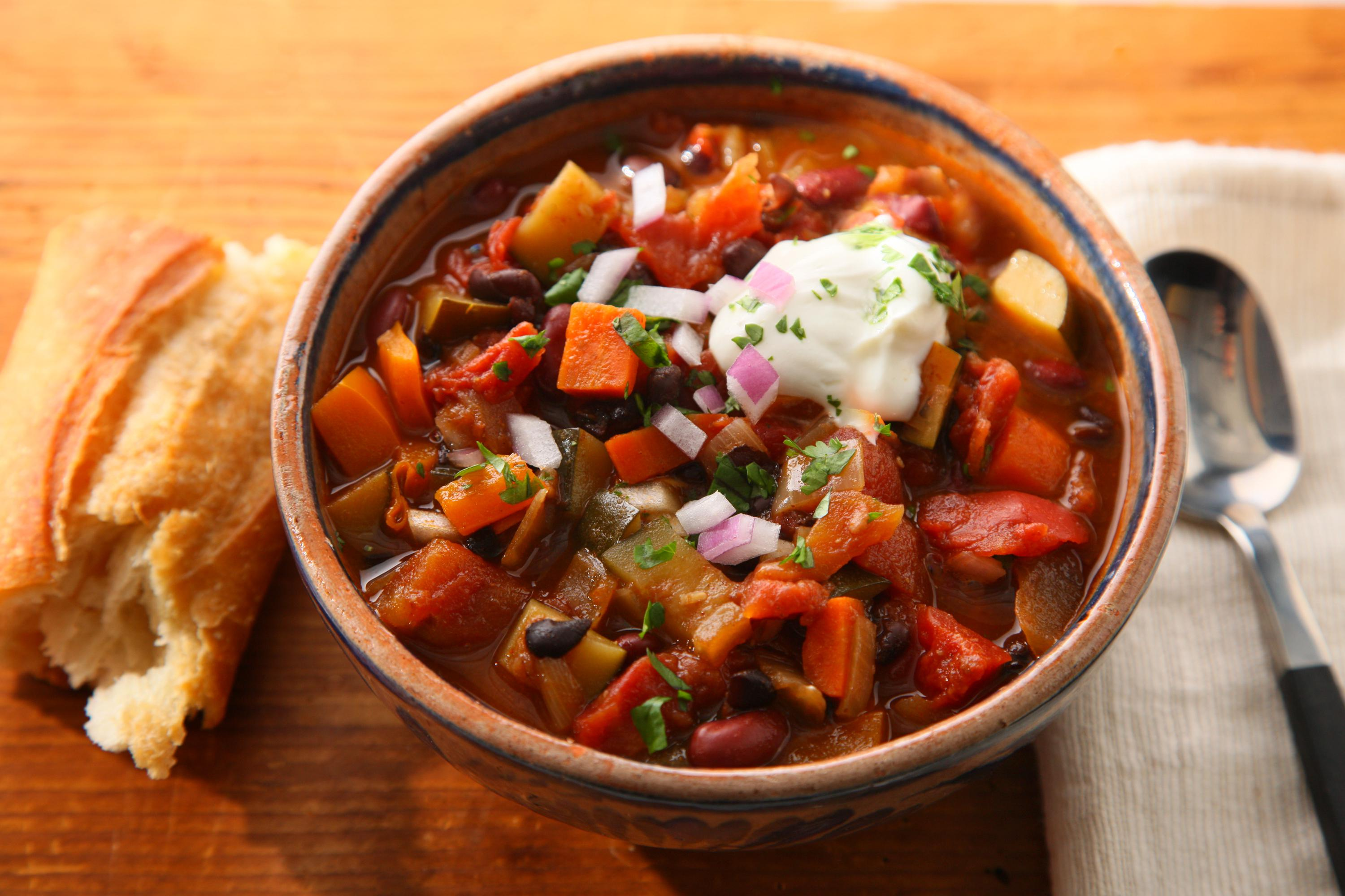 What Is The Best Slow Cooker Vegetarian Chili Recipe